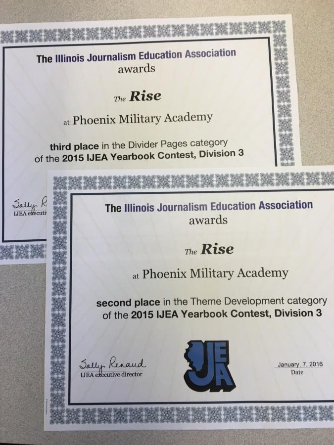 Phoenix+Wins+Big+in+Yearbook+Competition