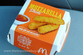 McDonald's mozzarella sticks
