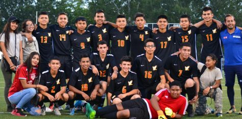 Boy's Varsity Soccer Takes First Place In Conference