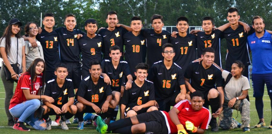 Boy%E2%80%99s+Varsity+Soccer+Takes+First+Place+In+Conference