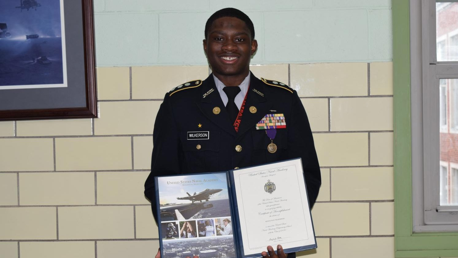 Wilkerson to U.S Naval Academy